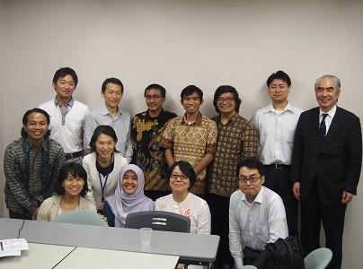 「行革国際交流」~インドネシアの官僚との意見交換会~